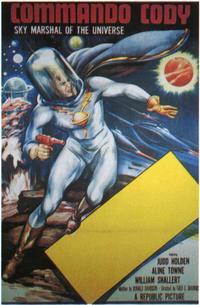 Commando Cody - 11 x 17 Movie Poster - Style B