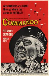 Commando - 11 x 17 Movie Poster - Style A