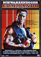 Commando - 27 x 40 Movie Poster - Danish Style A