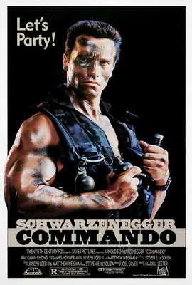 Commando - 27 x 40 Movie Poster - Style C