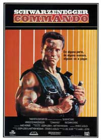 Commando - 27 x 40 Movie Poster - Spanish Style A
