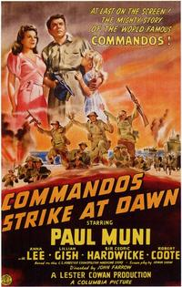 Commandos Strike at Dawn - 11 x 17 Movie Poster - Style A