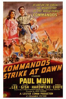 Commandos Strike at Dawn - 27 x 40 Movie Poster - Style A