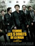 Comme les cinq doigts de la main - 27 x 40 Movie Poster - French Style A