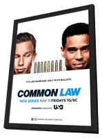 Common Law (TV) - 11 x 17 TV Poster - Style A - in Deluxe Wood Frame