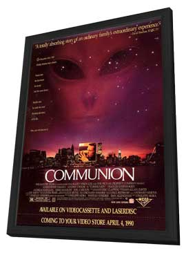 Communion - 27 x 40 Movie Poster - Style B - in Deluxe Wood Frame