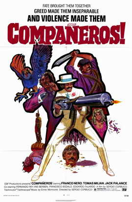 Companeros - 11 x 17 Movie Poster - Style A