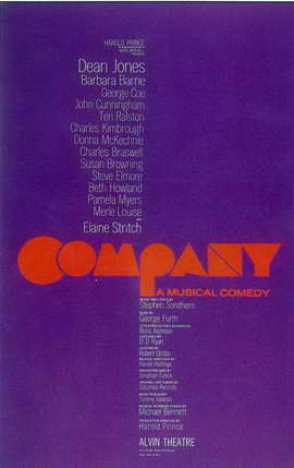 Company (Broadway) - 11 x 17 Poster - Style A