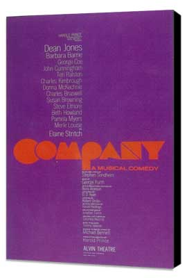 Company (Broadway) - 11 x 17 Poster - Style A - Museum Wrapped Canvas