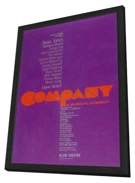 Company (Broadway) - 11 x 17 Poster - Style A - in Deluxe Wood Frame
