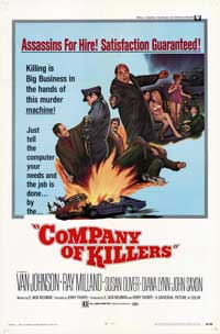 Company of KIllers - 27 x 40 Movie Poster - Style B