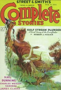 Complete Stories (Pulp) - 11 x 17 Pulp Poster - Style A