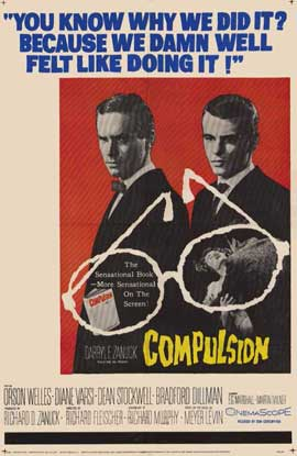 Compulsion - 11 x 17 Movie Poster - Style A