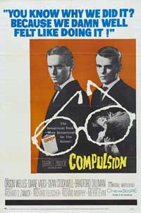 Compulsion - 11 x 17 Movie Poster - Style D