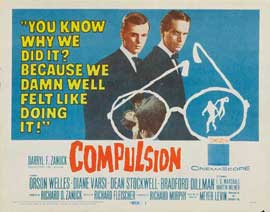 Compulsion - 11 x 14 Movie Poster - Style A