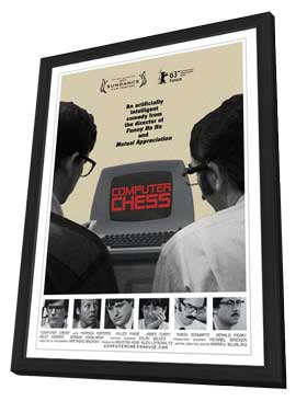 Computer Chess - 11 x 17 Movie Poster - Style A - in Deluxe Wood Frame