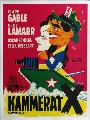 Comrade X - 11 x 17 Movie Poster - Danish Style A
