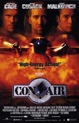 Con Air - 11 x 17 Movie Poster - Style A