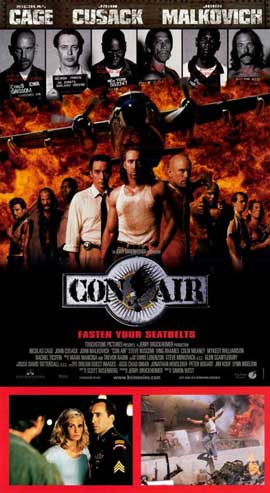 Con Air - 11 x 17 Poster - Foreign - Style A