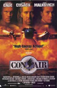 Con Air - 43 x 62 Movie Poster - Bus Shelter Style A