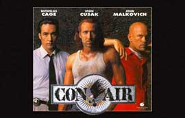 Con Air - 11 x 17 Movie Poster - Style D