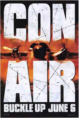 Con Air - 27 x 40 Movie Poster - Style C