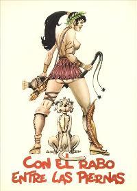 Con el rabo entre las piernas - 11 x 17 Movie Poster - Spanish Style A