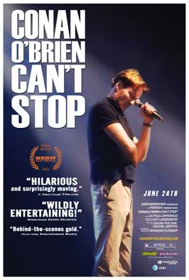 Conan O'Brien Can't Stop - 11 x 17 Movie Poster - Style A