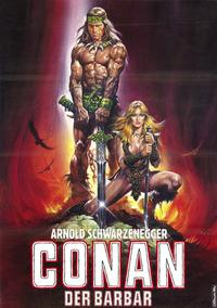 Conan the Barbarian - 11 x 17 Movie Poster - German Style A