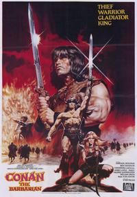 Conan the Barbarian - 11 x 17 Movie Poster - Style B