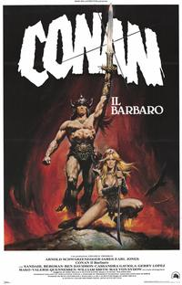 Conan the Barbarian - 11 x 17 Movie Poster - Italian Style A
