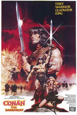 Conan the Barbarian - 27 x 40 Movie Poster - Style B