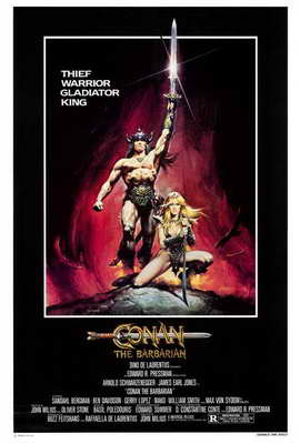 Conan the Barbarian - 27 x 40 Movie Poster - Style A