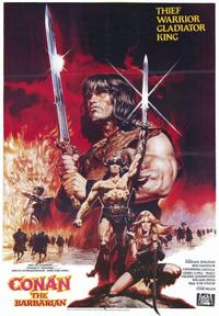 Conan the Barbarian - 43 x 62 Movie Poster - Bus Shelter Style A