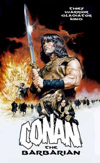 Conan the Barbarian - 43 x 62 Movie Poster - Bus Shelter Style B