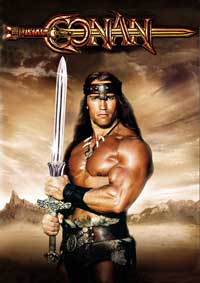 Conan the Barbarian - 27 x 40 Movie Poster - Style D