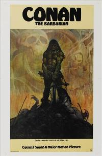 Conan the Barbarian - 27 x 40 Movie Poster - Style E