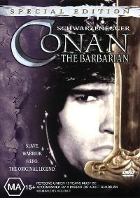 Conan the Barbarian - 27 x 40 Movie Poster - Australian Style A