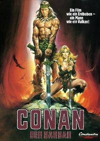 Conan the Barbarian - 27 x 40 Movie Poster - German Style A
