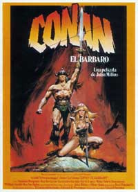 Conan the Barbarian - 27 x 40 Movie Poster - Spanish Style A