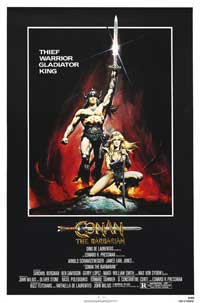 Conan the Barbarian - 43 x 62 Movie Poster - Bus Shelter Style D