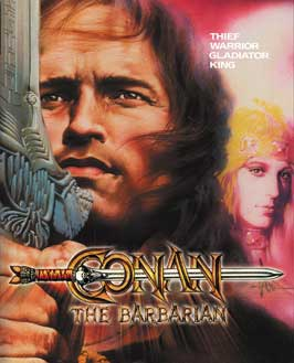 Conan the Barbarian - 11 x 17 Movie Poster - Style J