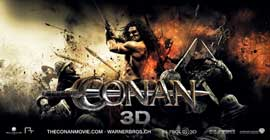 Conan the Barbarian - 20 x 40 Movie Poster - Chilean Style A