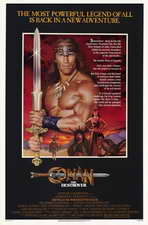 Conan the Destroyer - 11 x 17 Movie Poster - Style A
