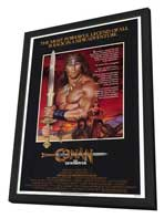 Conan the Destroyer - 11 x 17 Movie Poster - Style A - in Deluxe Wood Frame