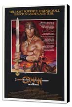 Conan the Destroyer - 27 x 40 Movie Poster - Style A - Museum Wrapped Canvas