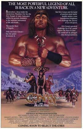 Conan the Destroyer - 11 x 17 Movie Poster - Style C