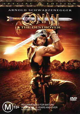 Conan the Destroyer - 27 x 40 Movie Poster - Australian Style A