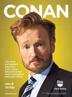 Conan (TV) - 11 x 17 TV Poster - Style A
