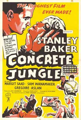 Concrete Jungle - 11 x 17 Movie Poster - Style A